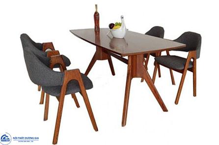 Bộ bàn ghế phòng ăn Bàn ghế ăn HGB79A + HGG79