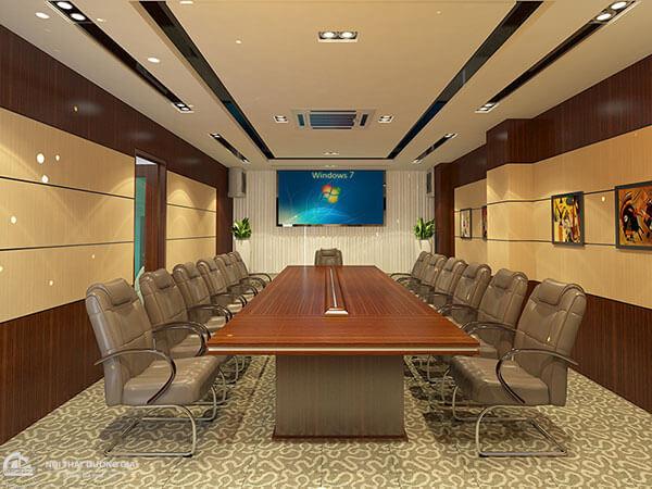 Chất liệu của bàn họp văn phòng