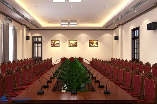 Thiết kế Phòng hội thảo Công an tỉnh Ninh Bình