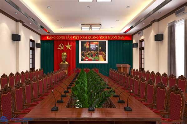 Phòng hội thảo Công an tỉnh Ninh Bình