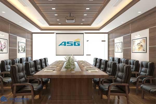 Thiết kế Phòng họp Công ty Cổ phần Dịch vụ Sân bay