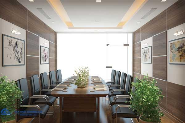 Thiết kế phòng họp nhỏ ASG