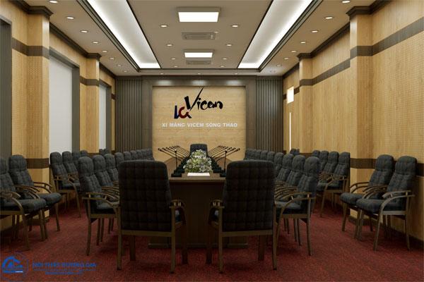 Thiết kế Phòng họp Công ty cổ phần xi măng Vicem Sông Thao