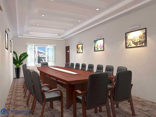 Phòng họp nhỏ đẹp dành cho Công ty Cổ phần Tiến Hà