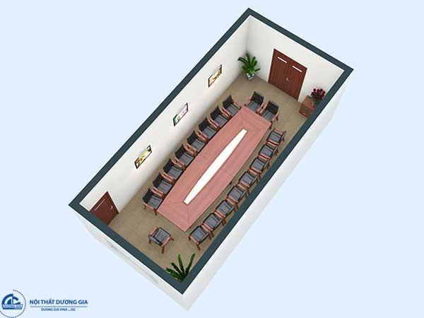 Thiết kế phòng họp nhỏ công ty Tiến Hà