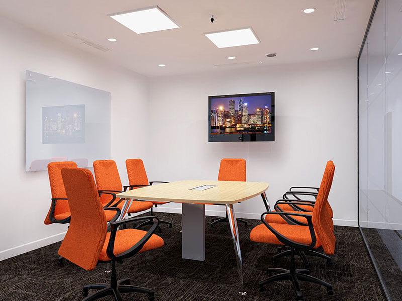 Mẫu thiết kế nội thất phòng họp đẹp, sang trọng