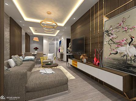 Thiết kế nội thất chung cư CC-DG02