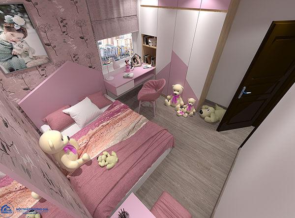 Thiết kế nội thất phòng ngủ chung cư CC-DG04
