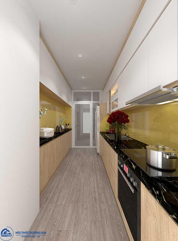 Thiết kế phòng bếp chung cư CC-DG05