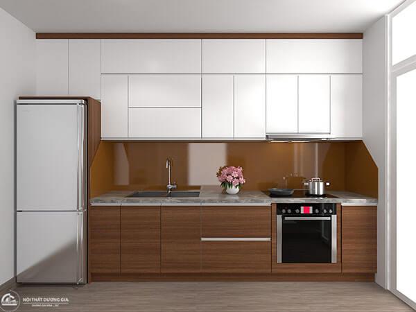 Thiết kế phòng bếp chung cư CC-DG04