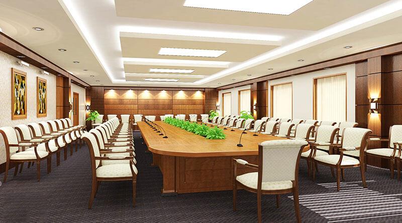Thiết kế phòng họp phù hợp với phong cách