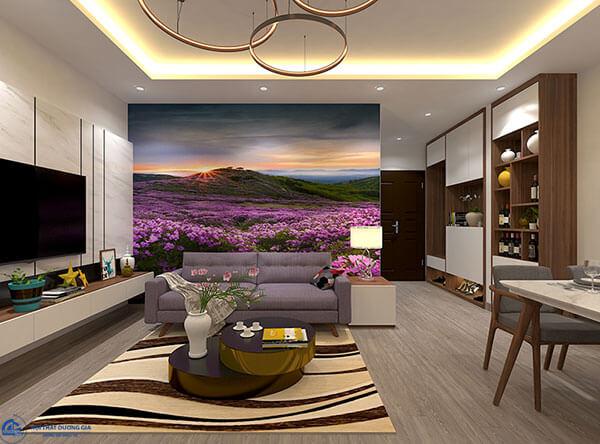 Thiết kế phòng khách chung cưCC-DG05