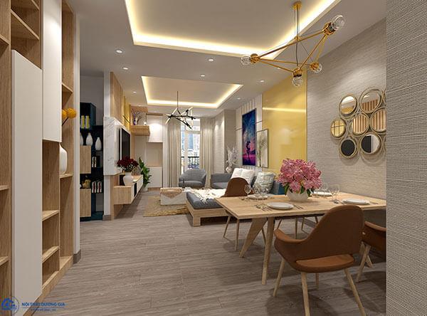Phòng khách căn hộ chung cưCC-DG04