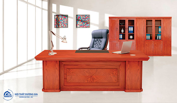 Hướng bàn làm việc tuổi Nhâm Thân tốt, thu hút tài lộc - Bàn DT2010V5