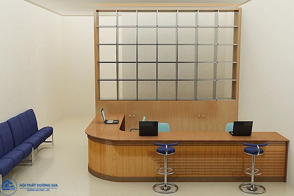 Chú ý chọn bàn quầy giao dịch ngân hàng phù hợp
