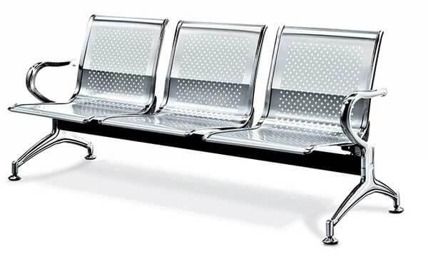 Ghế phòng chờ đẹp, giá thành rẻ bằng inox