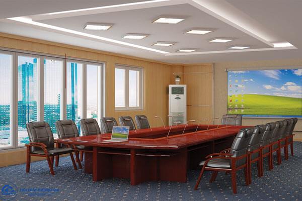Kích thước bàn họp 20 người thế nào là chuẩn?