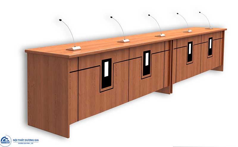 Mẫu bàn ghế hội trường cao cấp