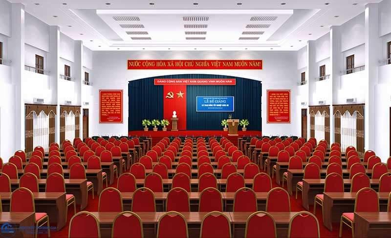 Thiết kế hội trường giá rẻ, uy tín tại Hà Nội