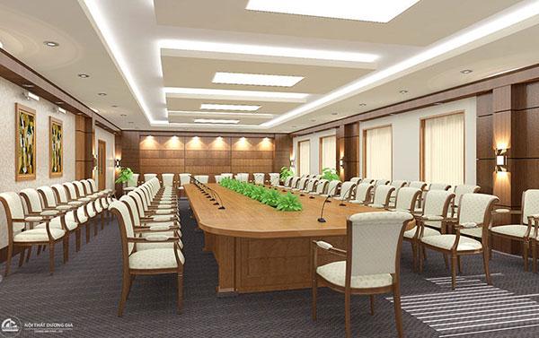 Thiết kế thi công nội thất phòng hội thảo cần lưu ý nhu cầu khách hàng