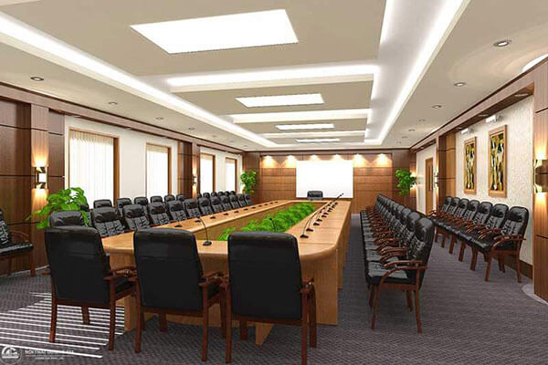 Lựa chọn đơn vị thiết kế thi công nội thất phòng hội thảo tại Hà Nội chuyên nghiệp