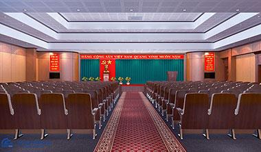 4 tiêu chuẩn thiết kế sân khấu hội trường mới nhất 2019