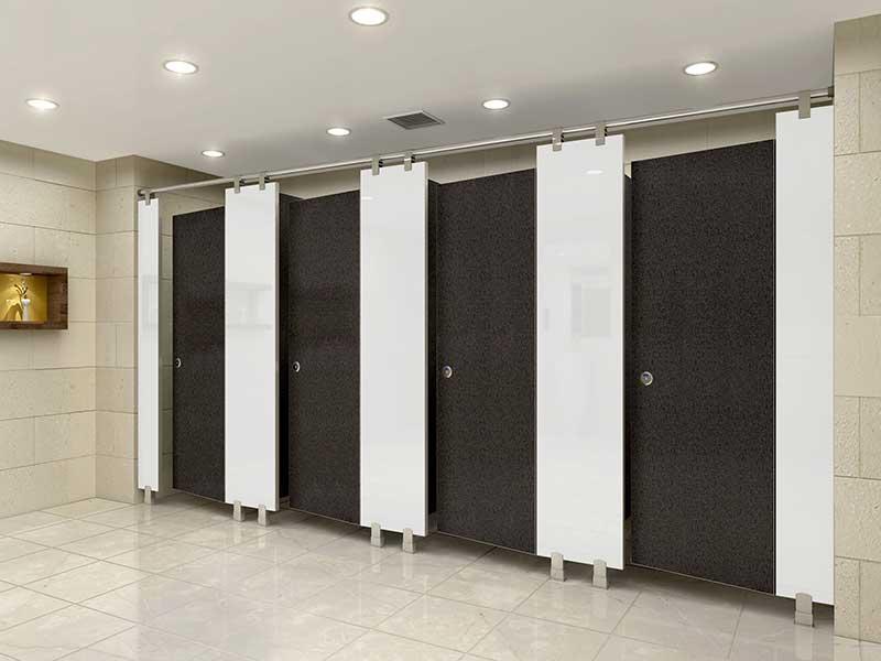 Vách ngăn nhà vệ sinh giá rẻ đẹp Compact