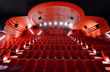Tiêu chuẩn thiết kế rạp chiếu phim mới và chi tiết nhất 2019