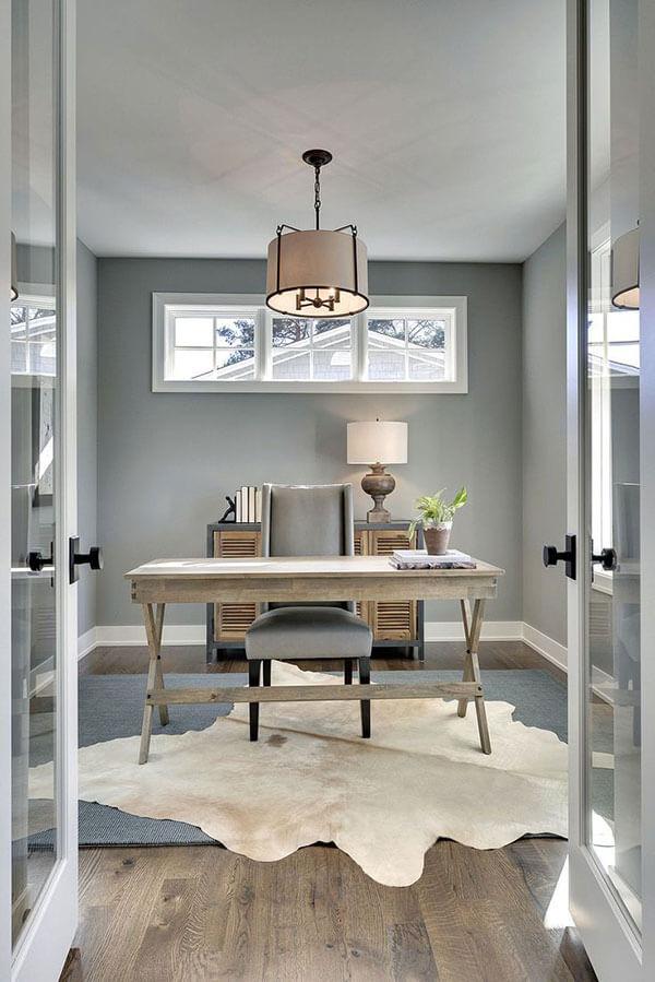 Thiết kế phòng làm việc cá nhân với ánh sáng phù hợp