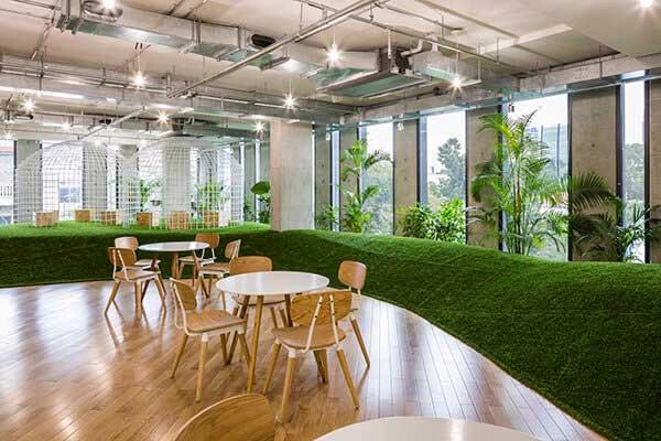 Đơn vị thiết kế văn phòng xanh uy tín tại Hà Nội