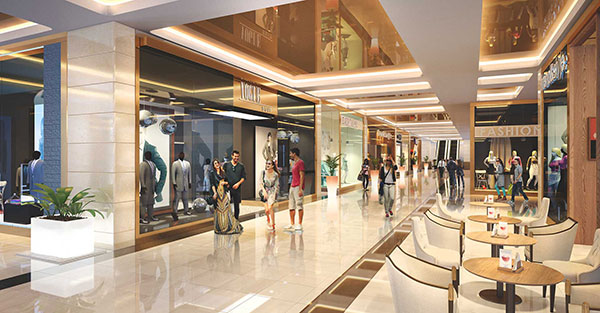 Lựa chọn nội thất trung tâm thương mại