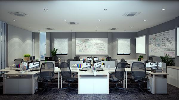 Phòng làm việc tiếng anh là gì?
