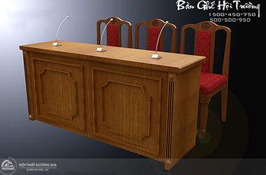 4 lý do giúp bàn ghế hội trường gỗ sồi luôn được ưa chuộng