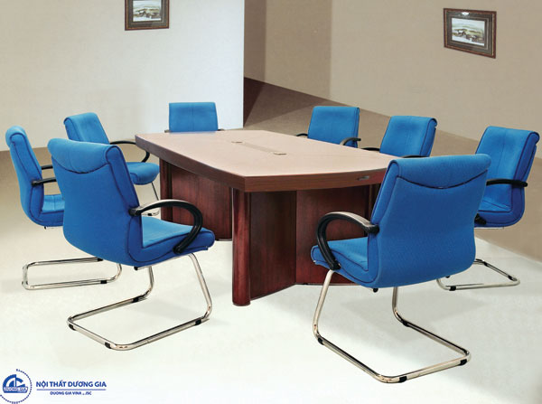 Bàn phòng họp dài 2m4 thiết kế sang trọngCT2412H3