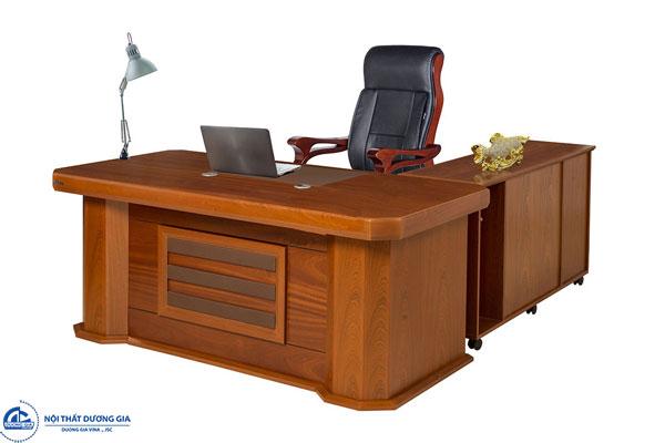 Báo giá bàn Giám đốc gỗ công nghiệp rẻ
