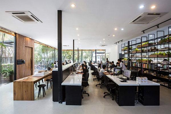 Văn phòng làm việc công tyE-connect