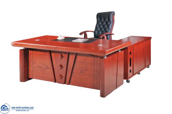 Bàn Giám đốc gỗ veneer DT1890V3