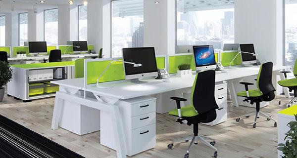 Số lượng chỗ ngồi của bàn văn phòng có vách ngăn