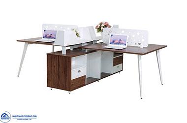 5 ưu điểu vượt trội của module bàn làm việc 4 người, 6 người