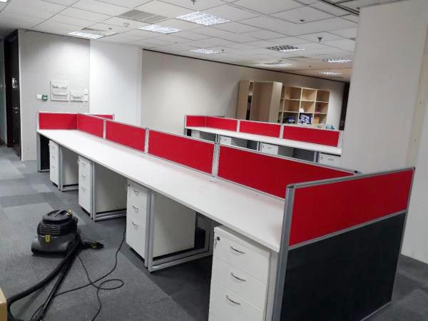 Những ưu điểm của vách ngăn nỉ văn phòng