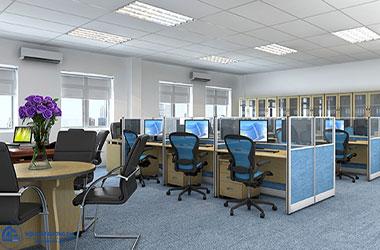 Tìm hiểu về những ưu nhược điểm nổi bật của vách ngăn nỉ văn phòng