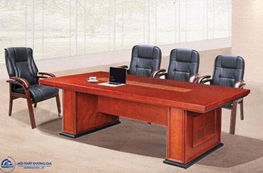 TOP 10 mẫu bàn phòng họp hình chữ nhật thiết kế đẹp, lịch sự