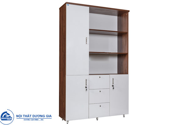 Tủ hồ sơ gỗ LUX1960-3B2