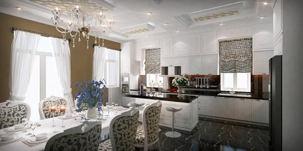 Làm thế nào để thiết kế nội thất phòng ăn sang trọng?