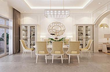Tư vấn cách thiết kế nội thất phòng ăn sang trọng, đẳng cấp