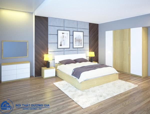 Bộ giường tủ phòng ngủ 301