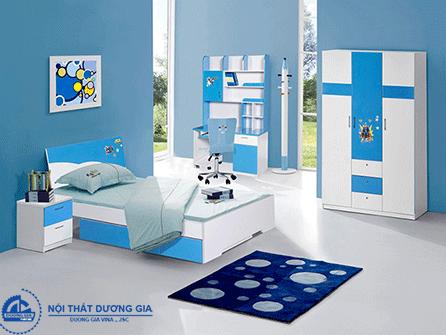 Bộ giường tủ phòng ngủ cho bé trai E01