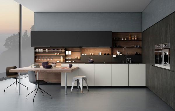 Thiết kế phòng bếp ấn tượng