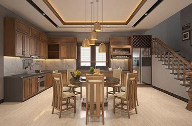 10+ mẫu thiết kế nội thất phòng bếp ăn đẹp ấn tượng nhất hiện nay