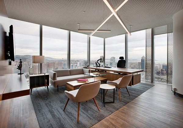 Đơn vị thiết kế nội thất phòng Giám đốc hiện đại uy tín